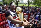 """Čempionų paradas: """"Raptors"""" šventę """"Nathan Phillips"""" aikštėje apkartino nemalonus incidentas"""