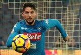 """Italijoje – čempioniškas viltis skandinantys """"Napoli"""" ir varžovus triuškinantys """"Inter"""""""