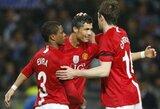 P.Evra atskleidė – A.Fergusonas prieš pasitraukimą vos nesukūrė C.Ronaldo ir G.Bale'o tandemo Mančesteryje