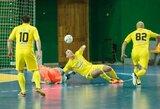 """""""Futsal A lygos"""" lyderiai vis labiau įtvirtina pozicijas"""