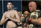 UFC bando surengti G.St-Pierre'o ir N.Diazo kovą