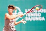 Kur kas parankesnę varžovę gavusi J.Mikulskytė papildė WTA taškų kraitį