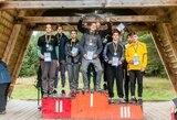 Merkio upėje sprendėsi baidarių ir kanojų slalomo čempionų vardai