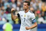 """PSG siūlo """"Barcelonai"""" įsigyti Vokietijos rinktinės atakuojantį saugą"""