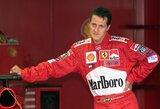 """Idealų lenktynininką sukūręs D.Ricciardo: """"M.Schumacheris nebuvo greičiausias"""""""