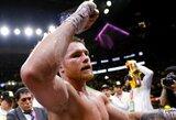 Iš C.Alvarezo atimtas IBF čempiono titulas, meksikietis veda derybas dėl kovos su WBO čempionu