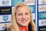 Rekordą pasiekusi R.Meilutytė Lietuvos čempionate iškovojo penktą aukso medalį (+ kiti rezultatai)