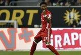 """D.Alaba įsitikinęs, jog """"Bayern"""" klubas yra pajėgus Čempionų lygoje nugalėti """"Liverpool"""""""