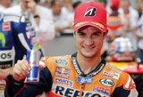 """D.Pedrosa pirmą kartą šiame sezone iškovojo """"pole"""" pozicija, V.Rossi pranoko J.Lorenzo"""