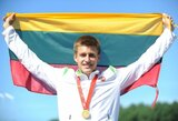 Lengvaatletis B.Mickus neįprastoje estafetėje su komandos draugais Nandzinge užėmė 4-ą vietą