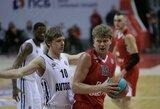 Vieningoje lygoje susidūrė keturi lietuviai, rezultatyviausias M.Kuzminskas