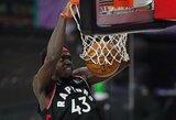 """""""Raptors"""" išlygino pusfinalio serijos rezultatą"""