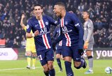 PSG pergalė Prancūzijoje pažymėta fantastišku K.Mbappe įvarčiu