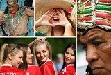 Konfederacijų taurės sirgaliai: rusaitės išsiskiria seksualumu, meksikiečiai – beprotiškomis kaukėmis