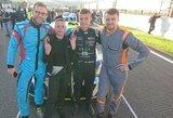 Savaitgalio 24 valandų lenktynėse Barselonoje startuos Lietuvos sportininkų komanda