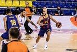 """Sėkmingas Š.Jasikevičiaus sugrįžimas: """"Barcelona"""" užtikrintai susitvarkė su """"Valencia"""""""