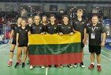 Europos jaunių badmintono čempionate – puiki diena lietuviams
