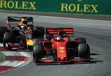 """""""F-1"""" teisėjai po beveik 2 valandų svarstymo nusprendė neatimti pergalės iš M.Verstappeno"""