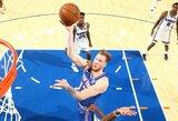 """NBA debiutavęs I.Brazdeikis: """"Mano tikslas kantriai laukti ir sunkiai dirbti"""""""