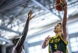 Lietuvos devyniolikmečių rinktinė nusileido Naujajai Zelandijai ir finišavo trečioje A grupės vietoje