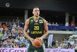 KONKURSAS: atspėkite Lietuvos – Belgijos rungtynių rezultatyviausią lietuvių žaidėją ir laimėkite prizus! (nugalėtojai)