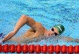 M.Sadauskas tapo geriausiu studentų varžybų JAV plaukiku