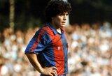 "D.Maradona: ""Svajoju įmušti dar vieną įvartį į Anglijos vartus, tik šįkart – dešine ranka"""