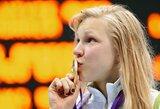 Olimpinis stebuklas: 15-metė lietuvė tapo Londono olimpiados čempione