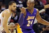 """""""Lakers"""" tikisi K.Bryanto ir S.Nasho sugrįžimo sausio pabaigoje"""