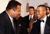 """Golfo legenda T.Woodsas papasakojo neįtikėtiną istoriją, kaip viešbutyje jam trenkė M.Ali: """"Jis buvo senas, tačiau vis dar labai stiprus"""""""