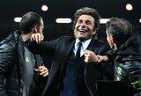 """A.Conte euforijoje: """"Tai yra svajonės išsipildymas"""""""