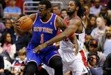 """""""Knicks"""" A.Stoudemire'ą gali iškeisti į """"76ers"""" ekipą"""