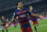 """D.Alvesas: """"Jeigu """"Barcelona"""" paskambintų, atvykčiau jau rytoj"""""""