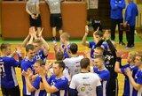 """Latvijoje laimėję """"VHC Šviesos"""" rankininkai susigrąžino antrą vietą grupėje"""