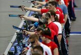 Miunchene įvykusiame šaudymo sporto pasaulio taurės etape užimta 22 vieta