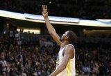 """Įsibėgėję NBA čempionai sutriuškino neįprastą statistiką užfiksavusią """"Nuggets"""""""