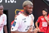 "T.Moffi dublis ""Lorient"" garantavo tašką prieš ""Monaco"""