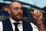 Didžiosios Britanijos bokso kontrolė nenubaudė T.Fury už komentarus apie homoseksualus ir moteris