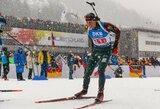 J.T.Boe nutraukė M.Fourcade'o pergalių seriją, K.Dombrovskis rinko pasaulio taurės taškus