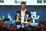 """""""Ballon d'Or"""" ceremoniją praleidęs C.Ronaldo paskelbtas geriausiu Italijos pirmenybių žaidėju"""