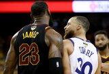 """S.Curry prisiminė konfliktą su L.Jamesu: """"Nenorėjau būti jo lyderystės aukos avinėlis"""""""