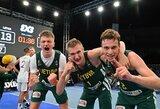 Lietuviai pateko į Europos jaunių 3x3 krepšinio čempionato ketvirtfinalį