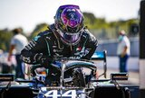 L.Hamiltonas prisiėmė kaltę dėl lemtingos klaidos, S.Vettelis rado kuo pasidžiaugti