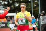 I.Zarankaitė visu metru pagerino karjeros rekordą, D.Kilty pasiekė geriausią Lietuvos sezono rezultatą
