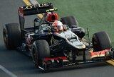 Trečiosiosiose Australijos GP treniruotėse - greičiausias R.Grosjeano ratas ir S.Vettelio bolido gedimas
