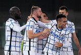 """""""Inter"""" vietiniame čempionate į savo sąskaitą įsirašė dešimtąją pergalę"""
