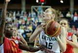 Lietuvos moterų krepšinio rinktinė pradėjo pasiruošimą Europos čempionato atrankos rungtynėms