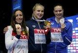 R.Meilutytė nepaliko vilčių Europos čempionei ir iškovojo antrą aukso medalį!