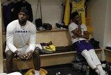 """Kinai priėmė griežtą sprendimą dėl """"Lakers"""" ir """"Nets"""" rungtynių"""
