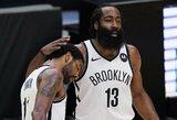 """J.Hardeno vedama """"Nets"""" pratęsė pergalių seriją iki šešių"""